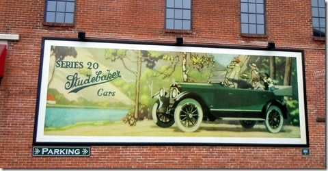 Entrance to Studebaker Museum