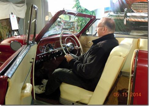 Bob in a Studebaker