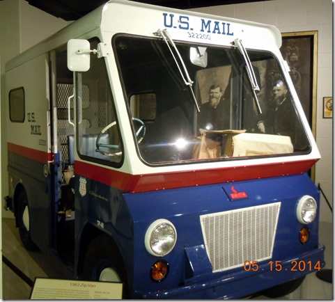Studebaker made mail trucks