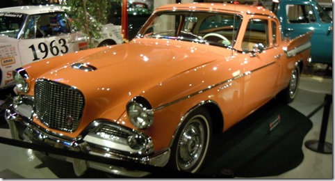 A Flamingo colored Hawk, the color is only by Studebaker.