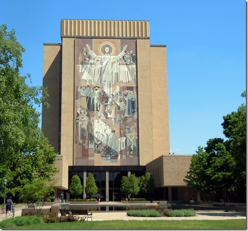 Word of Life Mural Notre Dame