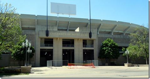 Notre Dame stadium, Knute Rocken Gate