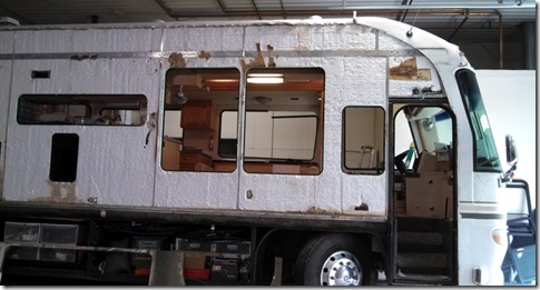 Motor Home renovation