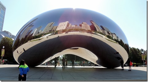 The Bean- Millennium Park- Chicago