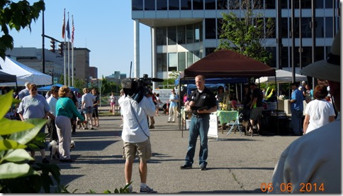 First Friday-Dog Days of Summer reporter live on TV