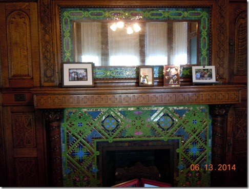 Fireplace in Mr. Bass's Den