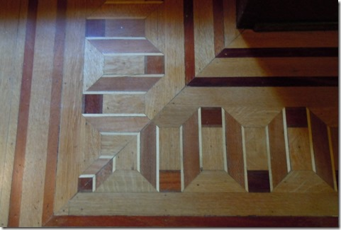 Floor detail in Grand Foyer