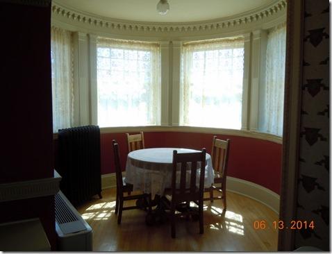 card room off the ballroom.