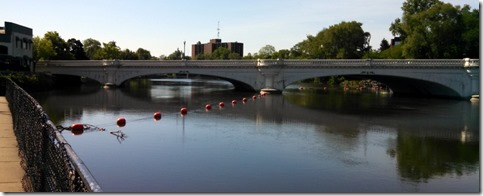 St. Josph River in South Bend