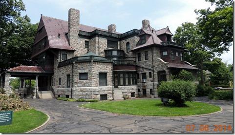 Back of Oliver Mansion