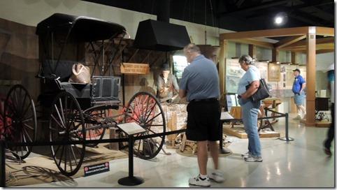Bob, Juanita and Tom at Studebaker Museum