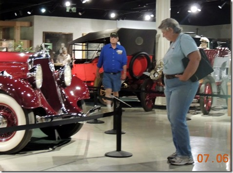 Tom and Juanita at Studebaker Musem