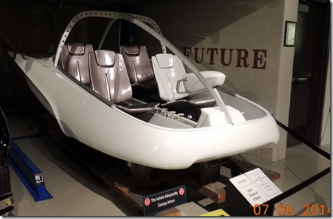 A George Jetson vehicle