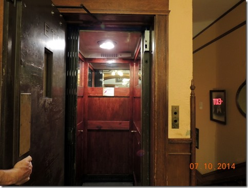 Elevator, Studebaker Mansion