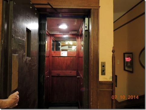 Elevator, Studebaker Mansion