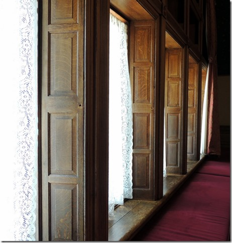Shutter type windows, Studebaker Mansion