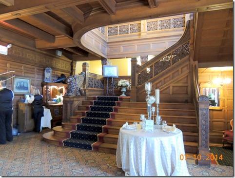 Main staircase, Studebaker Mansion