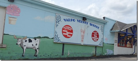 Valpo Velvet Ice Cream Shop and plant