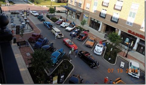 Car show on Eddy Street