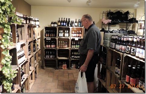 Bob in beer heaven!