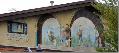Outside wall murals