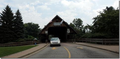 Covered bridge in Frankenmuth MI