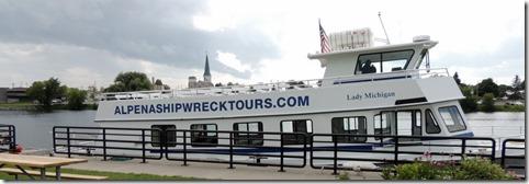 Shipwreck Tour in Alpena MI