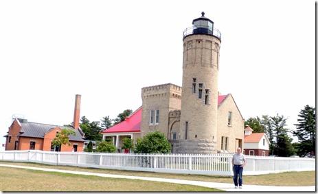 Old Macinaw Lighthouse