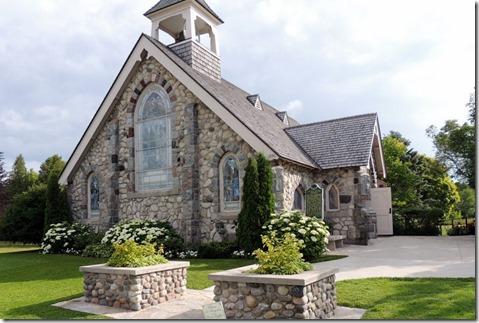 Little Stone Congregational  Church-Mackinac Island MI