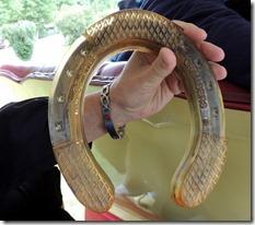 Horseshoe for Belguin Draft Horse