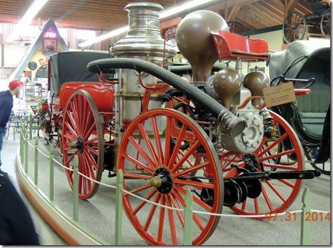 Steam Engine Fire Pumper
