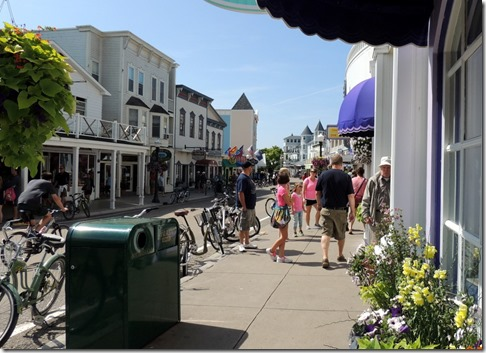 Downtown-Mackinac Island MI