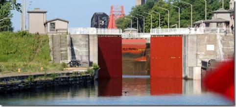 Canadian Lock opening