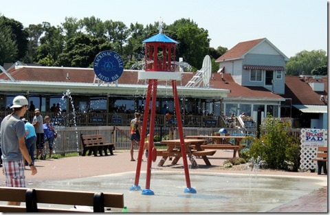 Water park in St. Ingace