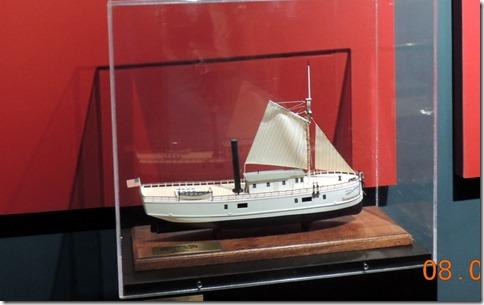 First steamship to brave Lake Superior, shipwreck