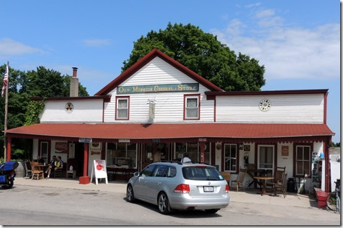 Old Mission General Store, 183 years old