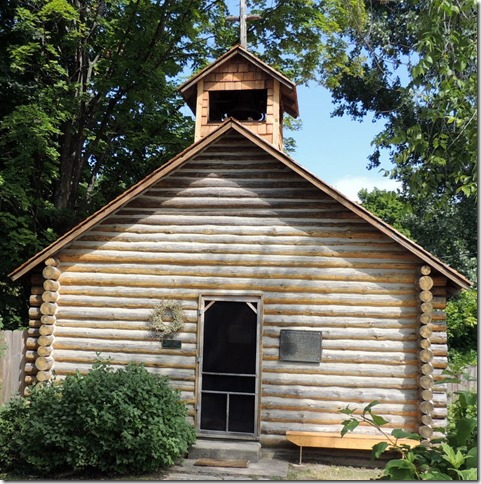 Replica of the old Presbyterian Mission Church