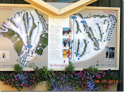 The Homestead Ski Resort.
