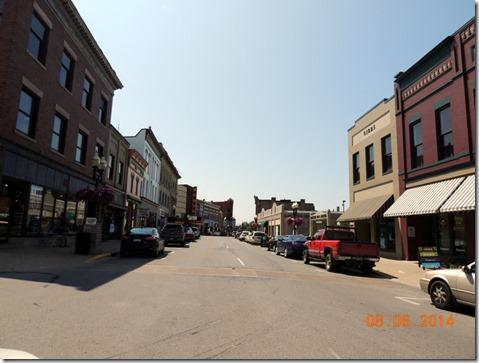 Downtown Manistee MI
