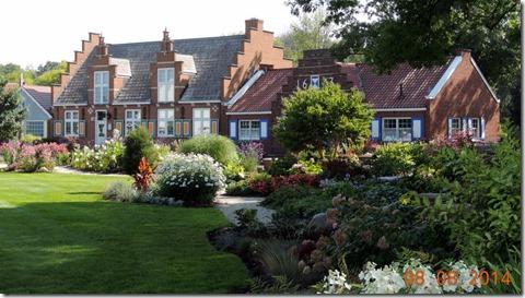 Post House-Windmill Island Gardens Holland MI