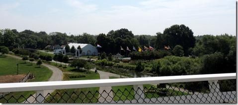 View from Windmill, Windmill Island Gardens Holland MI