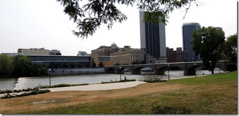 Downtown Grand Rapids from the Museum