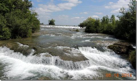 American rapids at 3 Sisters Island