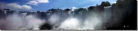 American Falls up close from Maid of the Mist