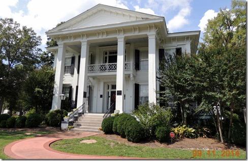 Burt Stark House in Abbyville SC
