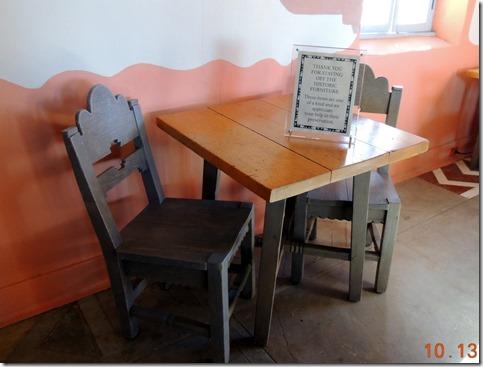 Original furniture Painted Desert Inn