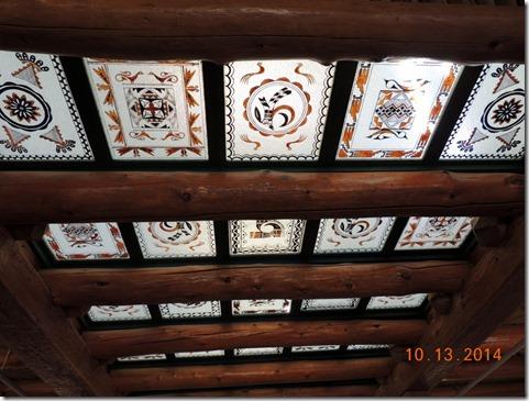 Ceiling, Painted Desert Inn
