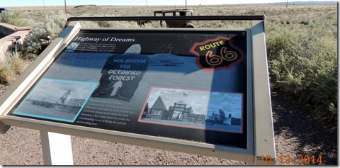 Rt. 66 through Petrified Forest