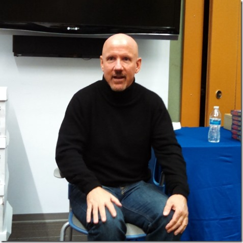 Author Mark Sullivan