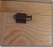 Magnet for bathroom door